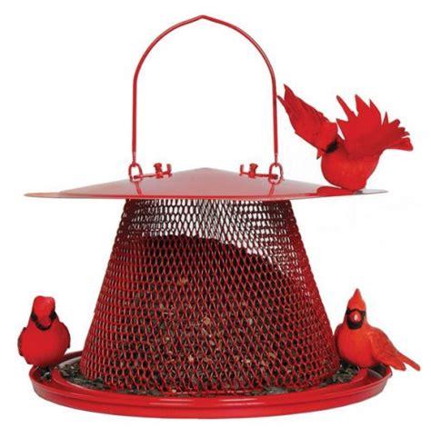 no no red cardinal bird feeder c00322 new ebay