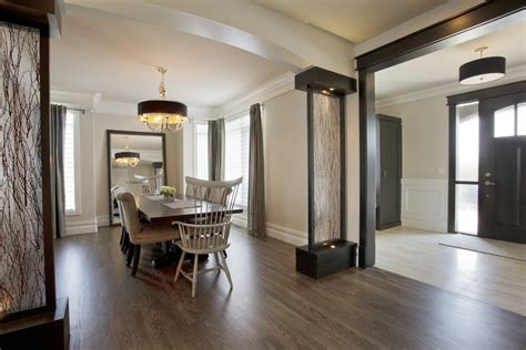 transitional kitchen ideas room divider ideas entry midcentury with front door mid