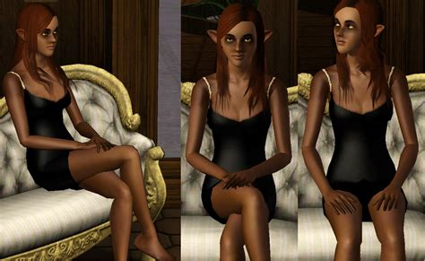 Sims 3 - Human-Cat Hybrid/Anthro Woman 1 by dspprince on ...