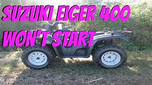 Suzuki Eiger 400 Won U0026 39 T Start  Lt-f400 Will Not Start