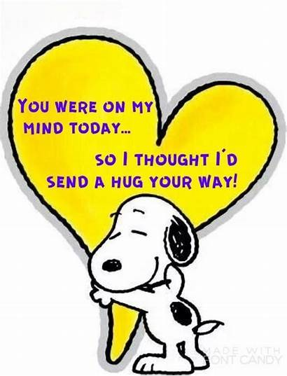 Hug Snoopy Funny Quotes Amy Morning Reinke