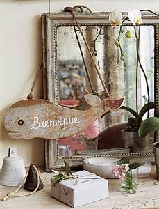 Peinture Effet Bois Flotté : un panneau de bienvenue en bois flott marie claire ~ Dailycaller-alerts.com Idées de Décoration