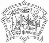 Halloween Wolfsbane Labels Coloring Pages Potions Printable Embroidery Apothecary Patterns Designs Urban Threads Hand Tutorials Fresh Creative Machine Urbanthreads Discover sketch template