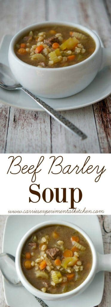 beef barley soup carries experimental kitchen