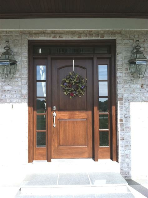 Wood Front Door With Door by Doors Wood Front Doors With Style Traditional Front Door