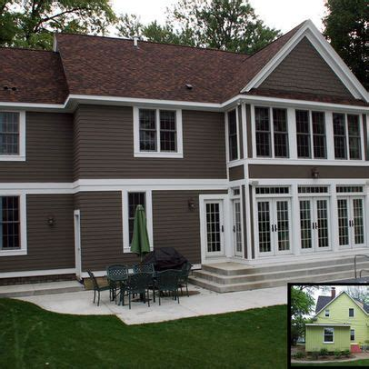 Exterior Paint Colors With Brown Roof  For The Home