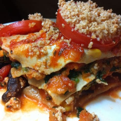 Want fresh recipes delivered straight to your inbox? Engine 2 Raise The Roof Sweet Potato Vegetarian Lasagna Recipe - Low-cholesterol.Food.com ...