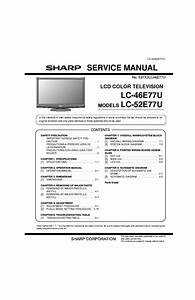 Sharp 19nm100 Service Manual Download  Schematics  Eeprom  Repair Info For Electronics Experts