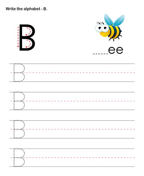 capital letters b esl efl worksheets preschool