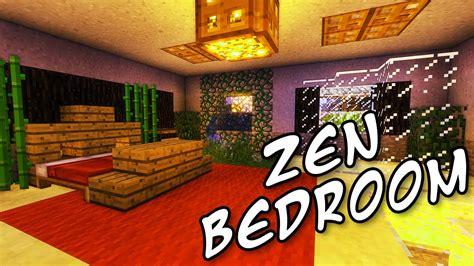 minecraft tutorials minecraft tutorial    build  relaxing zen bedroom hd youtube