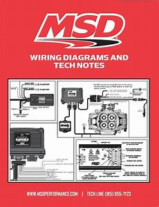 Msd Ignition 9615 Book Wiring Diagrams  Tech Notes  Instructions For Msd Products 85132096152