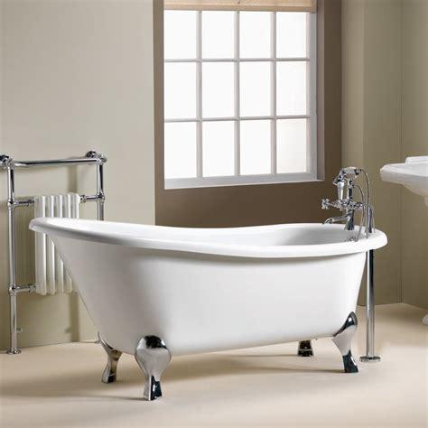 iconic diana slipper freestanding bath   mm