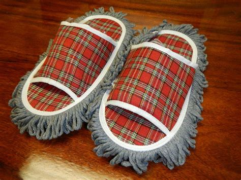 Cleaning Slippers Perfect  Wood Tile Floors Dust