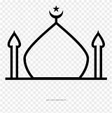 Mosque Coloring Clipart Colouring Pinclipart Outline Template Webstockreview Drawing sketch template