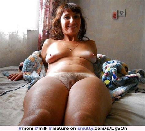 #mom #milf #mature #brunette #nude #tinytits #saggytits # ...