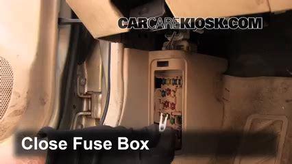 2000 Mazda Protege Fuse Box by Interior Fuse Box Location 1999 2003 Mazda Protege 2000