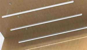 2 Suspension Linear Led Light Bar    Led Hanging Linear