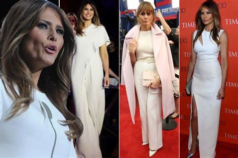 What We Can Expect From Melania Trump S Style As America S New First Lady Mirror Online