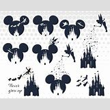 Disney Castle Silhouette With Tinkerbell | 570 x 453 jpeg 42kB