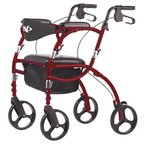 airgo 793 7 navigator rollator transport wheelchair