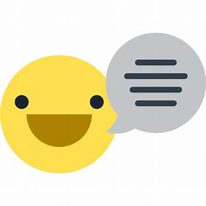 Emoji, Communications, Speaking, Chat, speech bubble ...
