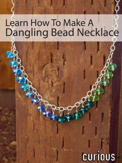 necklace bead dangling jewelry beaded diy