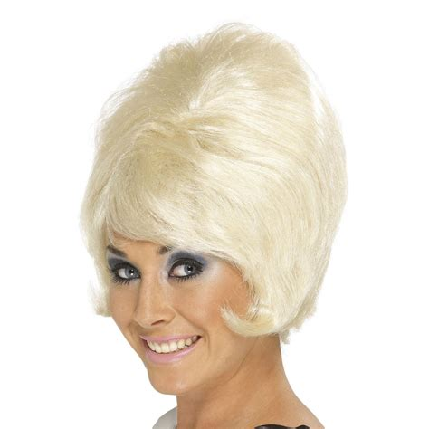 60s Hairstyles Beehive by 60s Beehive Style Wig Hairstyle Swinging Sixties