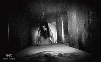Scary Gifs Tunnel Movies Crawling Creepy Dark