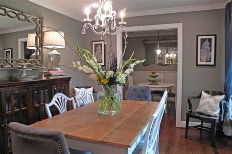 This Is My Living And Dining Room Color. Dorian Gray By