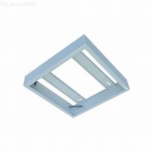 Pavé Led 600x600 : cadre de fixation dalle led 600 x 600 mur ou plafond avec ~ Edinachiropracticcenter.com Idées de Décoration