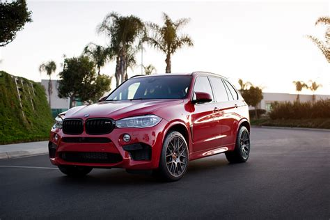 Melbourne Red Bmw X5 M With Aftermarket Parts And Wheels