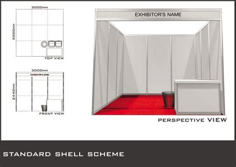 contoh gambar stand pameran kontraktor stand pameran