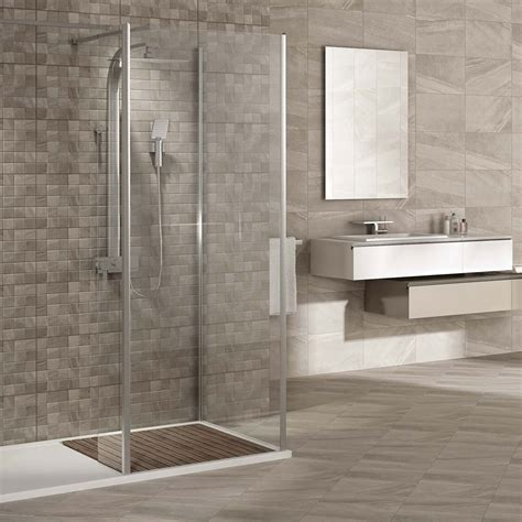 Oceania Stone Grey Wall Tiles  Now At Victorian Plumbing