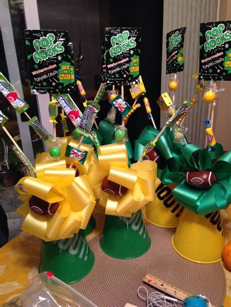 sports centerpieces for tables football banquet table decor football banquet
