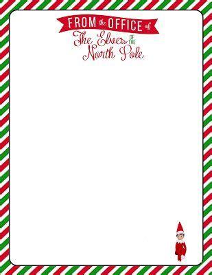printable letterhead   elf   shelf