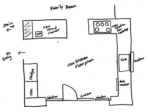 design a kitchen floor plan for free inspiring simple kitchen layout design ideas for simply 9950