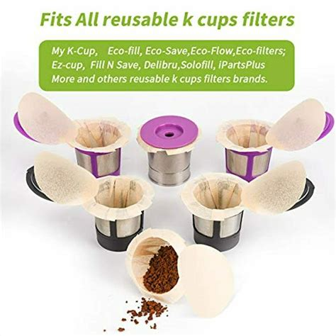 As discussed above, there are minimal differences between bleached and unbleached coffee filters. Eco-Sopure Unbleached K cup Coffee Paper Filters with Lid Disposable (300 pack) 715120925880 | eBay