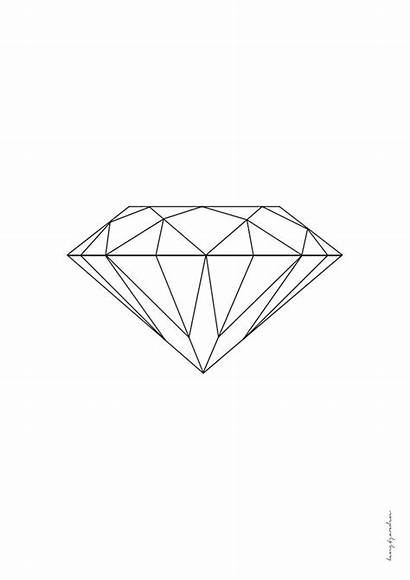 Pdf Diamond Tattoo Geometric Drawing Diamant Tattoos