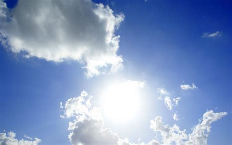 wallpapers: Sun And Clouds Wallpapers