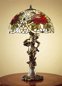Lampe Frau Mit Schirm : tiffany optik tischleuchte frau tischlampe lampe licht lampenschirm leuchte ebay ~ Eleganceandgraceweddings.com Haus und Dekorationen
