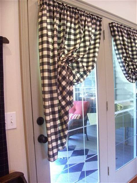 country patio door curtains primitive kitchen