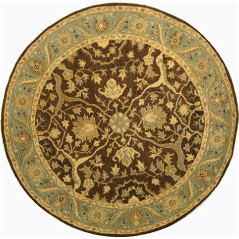 Safavieh Antiquity Brown/Green 3 ft. 6 in. x 3 ft. 6 in
