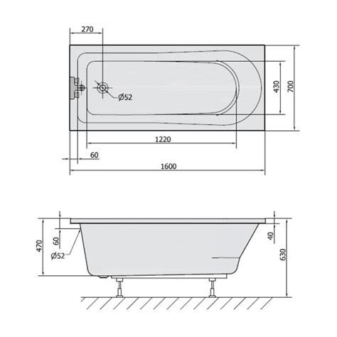 badewanne holisa  verschiedenen groessen aus acryl