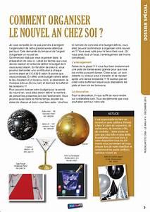 Magazine Comment Russir Son Rveillon Du