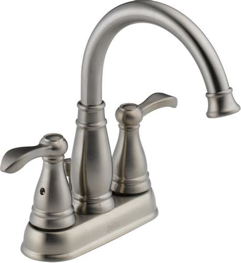 menards kitchen sink faucets delta porter 4 in 2 handle high arc bathroom faucet at