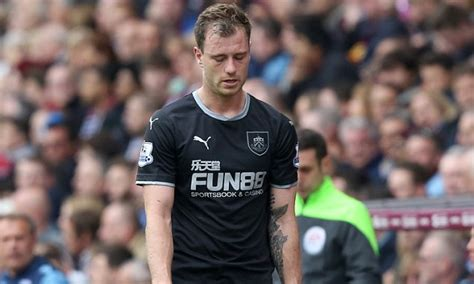 ashley barnes injury piles  misery  burnley