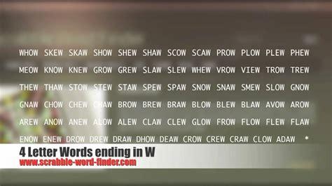 7 letter words ending in r 4 letter words ending in w 93282