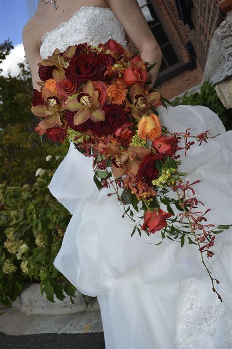 marah cole designs fall cascading bouquet rustic