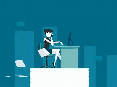 Business Card App Animation Illustration Dribbble Save