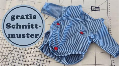 Wickelbbody für Babys und Puppen nähen   Schnittmuster
